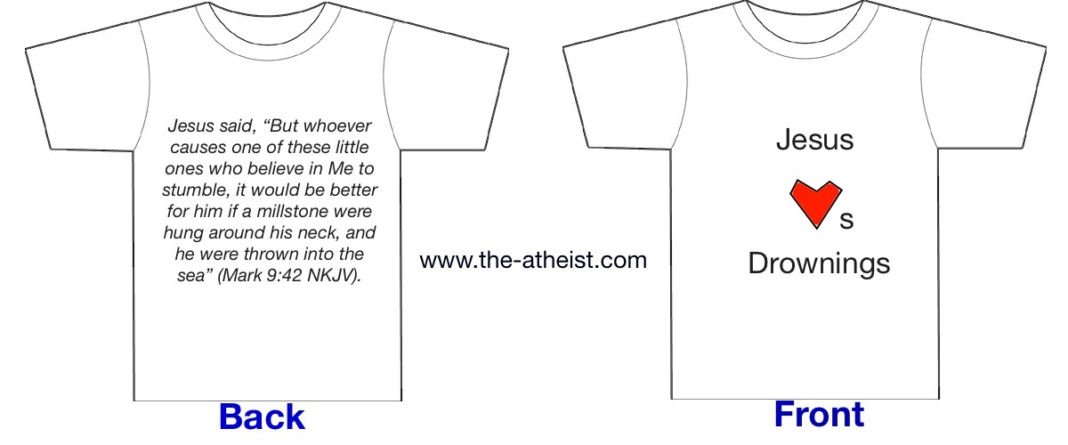 blank white t shirt back. The Atheist T-Shirt